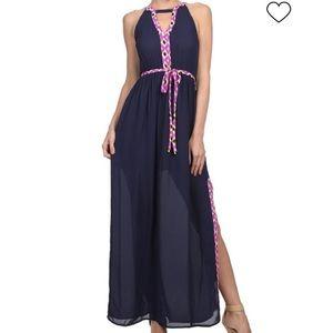 NWOT. TMHL Maxi Dress. Size - L